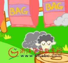 英语歌曲FLASH:Baa Baa black sheep黑羊儿咩咩叫