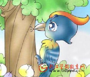 儿童歌谣FLASH:啄木鸟