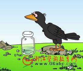 儿童歌曲FLASH:乌鸦喝水