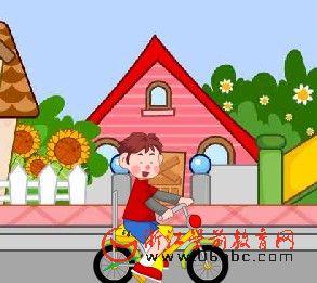 英文故事FLASH:New bike(新的自行车)
