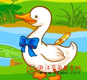 儿童英文歌曲FLASH:Six Little Ducks(六只小鸭子)