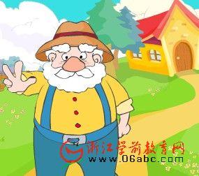 儿童英文故事FLASH:This old man(这位老先生)