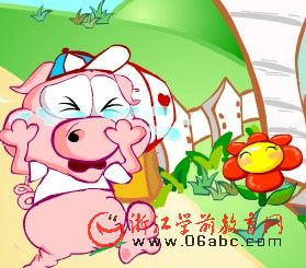 儿童英文歌曲FLASH:this little pig(这只小猪)