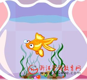 儿童歌曲FLASH:little goldfish(小金鱼)