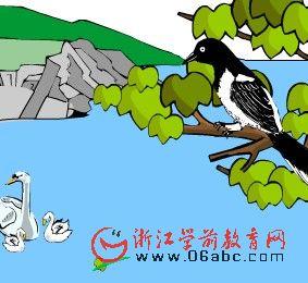 幼儿科学常识课件:飞来飞去的鸟(候鸟和留鸟)