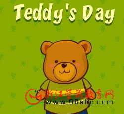 英文故事FLASH:Teddy,s day(泰迪的一天)