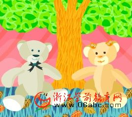 少儿英文歌曲FLASH:under the spreading chestnut tree(在这棵张开的栗子树下)