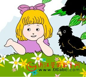 ��ͯӢ�ĸ���FLASH��two little blackbirds����ֻС����