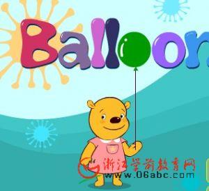 FLASH英语故事:balloons(气球)