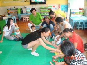 瓜沥二幼开展亲子早教面向社区开放活动