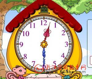 数学游戏FLASH:填时间