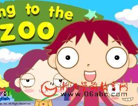 英语故事flash:Going to the zoo.