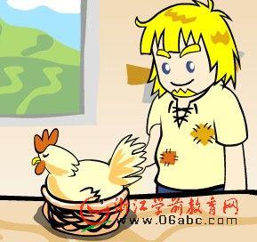 成语故事FLASH:杀鸡取卵