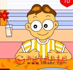 儿童数学游戏FLASH:烤土司面包1