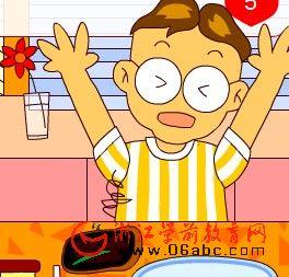 儿童数学游戏FLASH:烤土司面包2