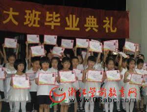 记金城堡艺术幼儿园2009届果果班毕业典礼