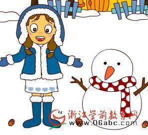 儿童数学游戏FLASH:魔术雪人1