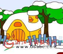 儿童数学游戏FLASH:魔术雪人2