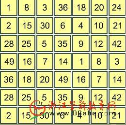 儿童数学游戏FLASH:拓荒五子骑2