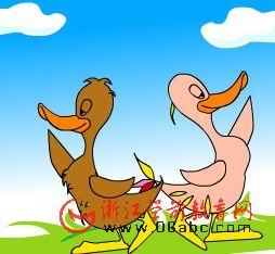 儿童幽默故事FLASH:鸡毛鸭照相