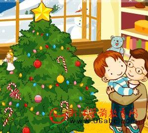FLASH儿童英文故事:Merry Christmas(圣诞快乐)