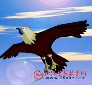 Ӣ�Ĺ���FLASH��An eagle and an arrow.