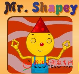 FLASH英文故事:Mr shapey
