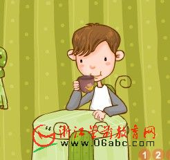 少儿英语故事FLASH:timmy drinks tea