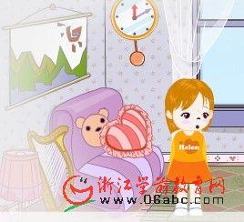 儿童英语故事FLASH:in her house