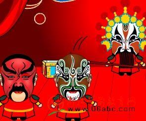 少儿艺术课件:京剧脸谱大荟萃