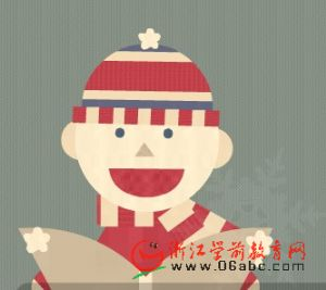 儿童英语歌曲FLASH:Here we come a-caroling