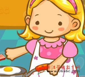 儿童英语歌曲FLASH:Ham and eggs