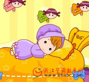 儿童英语歌曲FLASH:Good Night(晚上好)