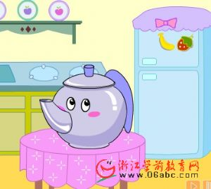 儿童英文歌曲FLASH:I am a Little Teapot
