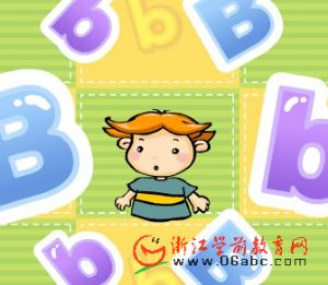 儿童歌曲FLASH:letter b