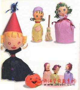 童话灰姑娘人物趣味玩偶制作(附下载图)