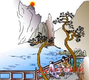 儿童学唐诗FLASH:江南逢李龟年  唐 杜甫