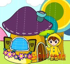 儿童英文歌曲FLASH欣赏:rain go away