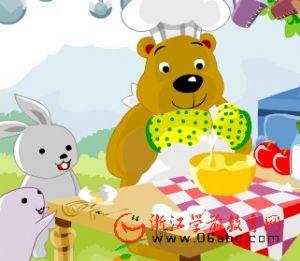 儿童英文歌曲FLASH欣赏:Pat a cake