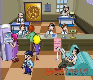 儿童学英语FLASH:CITY BANK