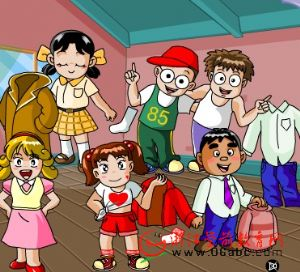 儿童学英语FLASH:clothing