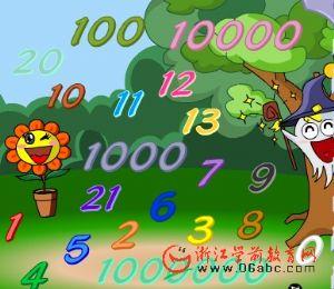 快乐学英语FLASH:numbers