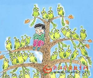 儿童绘本故事FLASH:大鸟树