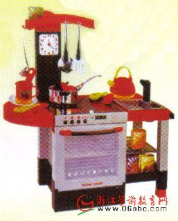 豪华厨房组 幼儿园区域游戏 角色游戏 情景教室角色 幼儿高清图片