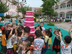 萧山瓜沥二幼400幼儿集体过生日