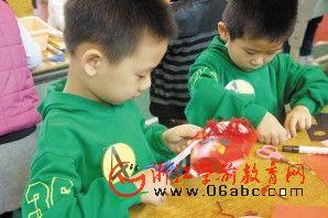 宁波海曙区少年宫翠柏总部:幼儿生活能力竞赛