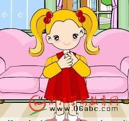 儿童英文Flash歌曲在线看:IfYouareHappy(如果你是快乐的)