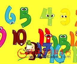 儿童英文歌曲Flash欣赏:Numbersong(数字歌)