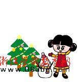 英语FLASH儿歌:we wish you a merry christmas