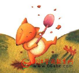 儿童睡前故事FLASH在线欣赏:狐狸孵蛋